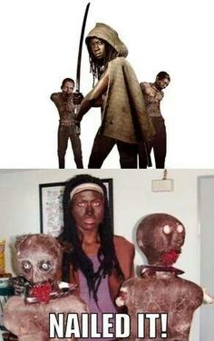 This is really offensive, but sadly quite funny... racial stereotypes on The Walking Dead