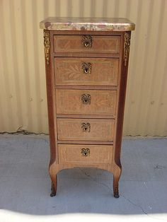 This Is An Absolutely Gorgeous French Antique Lingerie Cabinet / Night  Stand That Is Made Out Of Walnut And Dates From This Stunning Antique