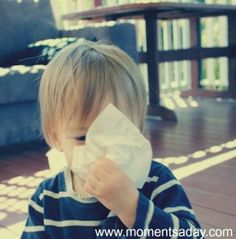 Simple fun activity to help kids learn about keeping germs to themselves (practicing cleanliness and courtesy)