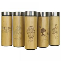 Get Best Price Bamboo Travel Thermos Stainless Steel Bottles For Water Vacuum Flasks Tea Coffee Insulated termos bardak cup Customized Cyber Days, Coffee Thermos, Coffee Geek, Stainless Water Bottle, Insulated Cups, No Waste, Vacuum Flask, No Plastic, Jars