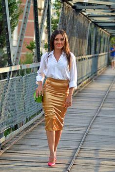 Golden skirt 10
