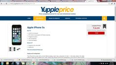 Shop for #Apple #iPhone 5s at lowest price online. View here: http://bit.ly/2bhzNMd   #YupplePrice #PriceCompare