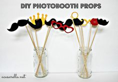 Make your own photo booth props!
