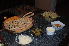 Anne's hyggested: Italiensk kyllinge- og pastasalat.. Grains, Rice, Meat, Chicken, Seeds, Laughter, Jim Rice, Korn, Cubs