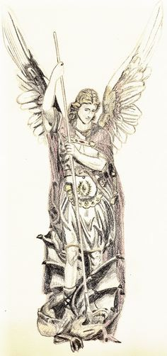St. Michael the Archangel by ~FanKing on deviantART #angel #archangel