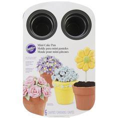 Wilton Mini Flower Pot Cake Pan6 Cavity 14inX17in