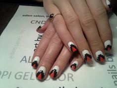 Aztec manicure. Another one of my favorite manicures