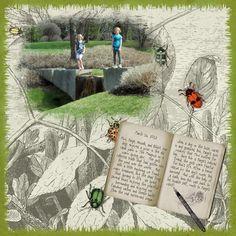 Scrapbooking- Adventures in the park- part one!