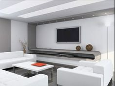 Minimalist Interior Design With Comfy White Sofa And White Coffee Table Design And White Living Room Furniture Sets With Tv Cabinet Design Living Room Interior Design And Marble Floor Costa Mesa Apartments Interior Design Minimalist, Modern Home Interior Design, Modern House Design, Interior Ideas, Interior Designing, Contemporary Design, Simple Interior, Nautical Interior, Living Room Modern