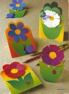 Witam;)  Dzisiaj chciałabym Wam pokazać kilka fajnych ozdób wykonanych z papieru.  Niektóre z nich świetnie nadają się do dziecięcych pokoik... Summer Crafts, Diy And Crafts, Arts And Crafts, Paper Crafts, Art N Craft, Craft Work, Felt Flowers, Paper Flowers, Diy For Kids