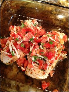 Bruschetta chicken - great expectations: quick recipes of the week