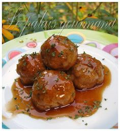 Le palais gourmand: Boulettes de poulet sauce générale tao Meatball Recipes, Beef Recipes, Healthy Recipes, Low Carb Menus, How To Cook Beef, Chop Suey, One Pot Dishes, Asian Recipes, Ethnic Recipes