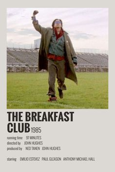 Alternative Minimalist Movie/Show Polaroid Poster - The Breakfast Club Iconic Movie Posters, Minimal Movie Posters, Minimal Poster, Movie Poster Art, Iconic Movies, Poster Wall, Movie Collage, Pulp Fiction, Breakfast Club
