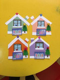 Christmas Birthday Party, Christmas Mood, Christmas Crafts, Diy And Crafts, Arts And Crafts, Xmas Cards, Advent Calendar, Preschool, Education