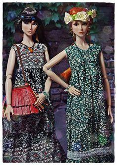 Boho Girls   par Stellas Dolls