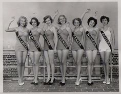 Preparing for the return of the Miss America pageant to Atlantic City in 2014, this photo reminds me of the rich history the program has and the thousands of women whose college education was paid for through its scholarships... Including mine.