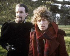 Anthony Ailey and Tom Baker