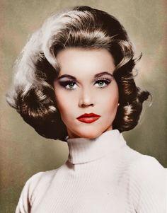 Jane Fonda… a truly GREAT actress & legend. (please follow minkshmink on pinterest)