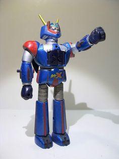 Vintage Titanic Bot Transforming Transformable robot Figure Jouet