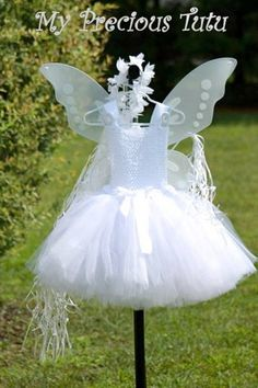 Tooth Fairy Princess Tutu Set by MyPreciousTutu on Etsy