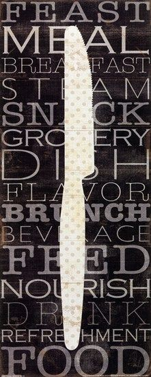 Kitchen Words III by Pela Design art print