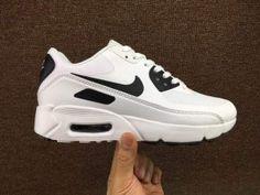 9e129e802d7a Nike Air Max 90 Ultra 2. 0 Essential White Black 875695 104 Mens Running  Shoes 875695-104