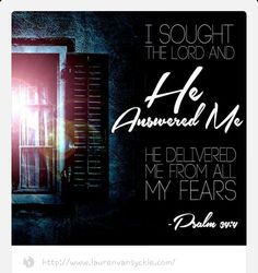 PSALM 34:1-16 I will praise theLordat all times.I will constantly speak his praises. I will boast only in theLord;let all who are helpless take heart.Come, let us tell of theLord's greatness;let us exalt his name together.I prayed to theLord, and he answered me.He freed me from all my fears.Those who look to him for help will be radiant with joy;no shadow of shame will darken their faces. In my desperation I prayed, and theLordlistened;he saved me from all my troubles.For the…
