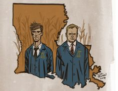 True Detective artwork by Joe Bowen. True Detective Season 1, Fan Art, Know Your Meme, Nerd Geek, Princess Zelda, Animation, Deviantart, Comics, Gallery