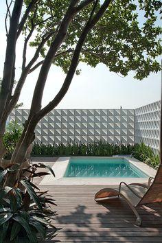 Jardim minimalista