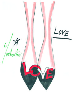 I love beautiful shoes, but they must be comfortable or forget it, they sit in the closet forever!