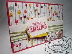 Stampin Jacqueline: Painted Blooms Designer Series Paper