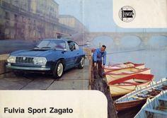 966 Lancia Fulvia Sport Zagato Sales Brochure