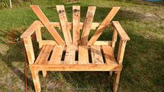 This one seems like the work of some amateur pallet wood crafter who just wanted…