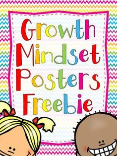 19 Growth Mindset Posters FREEBIE