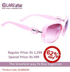 EDWARD BLAZE EB1015 PINK SUNGLASSES http://www.glareaffair.com/edward-blaze-eb1015-pink-sunglasses.html  Brand : Edward Blaze  Regular Price: Rs1,299 Special Price: Rs499  Discount : Rs800 (62%)