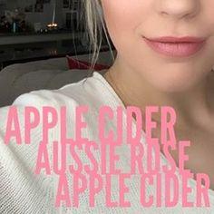 #AppleCider #AussieRose #glossygloss