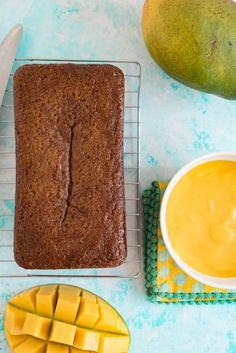 Hawaiian Mango Bread Recipe www.pineappleandcoconut.com #ChosenFoods #Ad