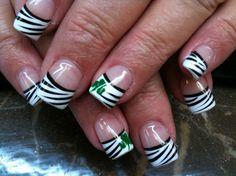 St. Pattys nails.