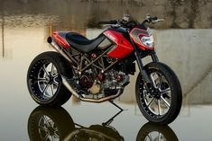 Ducati Hypermotard-love the colors...would like to see the trellis frame pop more in white or red!