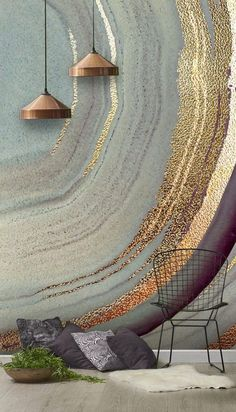 Gold Dust Grey Marble Wallpaper Mural Stunning Gold Dust Grey Marble wall mural from Wallsauce. This high quality Gold Dust Grey Marble wallpaper is custom made to your dimensions. This image is - Lara Skinner Create a stunning feature wall Grey Marble Wallpaper, Wall Wallpaper, Wallpaper Wallpapers, Wallpaper Feature Walls, Wallpaper Designs For Walls, Bedroom Wallpaper, Heart Wallpaper, Laptop Wallpaper, Textured Wallpaper