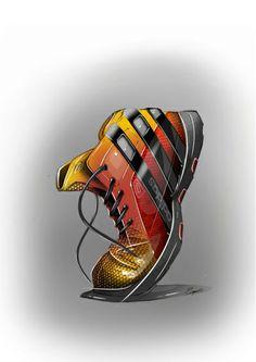 Adidas shoe render | Raddest Looks On The Internet: http://www.raddestlooks.net