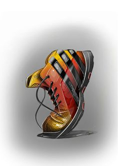 Adidas shoe render | Raddest Looks On The Internet: http://www.raddestlooks.net