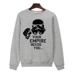 Star Wars Long Sleeve Pullovers O-Neck Sweatshirt
