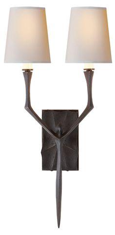 Circa Lighting Bristol Sconce Aged Iron