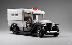 Lego 1930 Ford Model A – Ambulance - Trend Lego Box 2020 Lego Ww2, Lego Cars, Lego Auto, Lego Boxes, Lego Projects, Lego Technic, Ford Motor Company, Legoland, Lego Marvel
