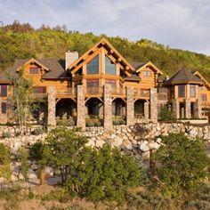 Log Cabin Builder - Beautiful Stunner Log Cabin Home