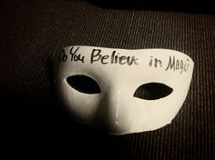 What is The Masquerade we live in? Here is why I believe in storytellers. We need you....