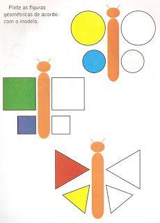 Atividade Infantil: Formas Geométricas