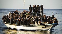 CNN - ITALY - Thousands of immigrants risk their lives trying to reach the Italian island of Lampedusa in rickety, overloaded boats.