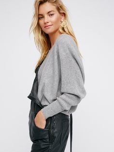 Too Little Too Late Cashmere Dolman at Free People Clothing Boutique
